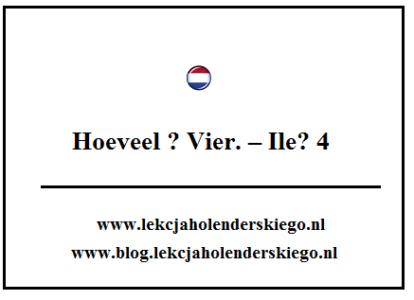 hoeveel_gramatyka_nauka_niderlandzkiego_lekcja_holenderskiego
