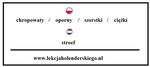 nauka niderlandzkiego holenderski stroef
