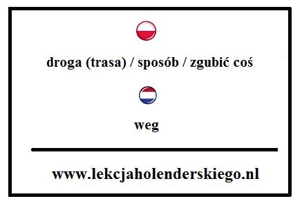 weg_1_nauka_niderlandzkiego_lekcja_holenderskiego
