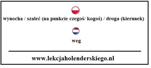 weg_2_nauka_niderlandzkiego_lekcja_holenderskiego